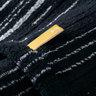 Strait 220 全日本製今治認證有機棉方巾-Black
