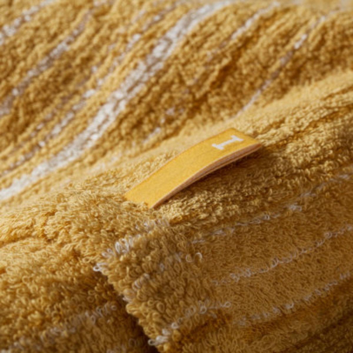Strait 220 全日本製今治認證有機棉方巾-Gold