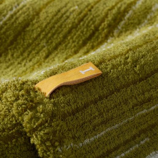 Strait 220 全日本製今治認證有機棉方巾-Green