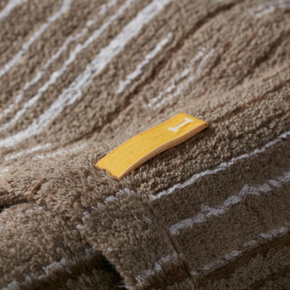 Strait 220 全日本製今治認證有機棉方巾-Sepia