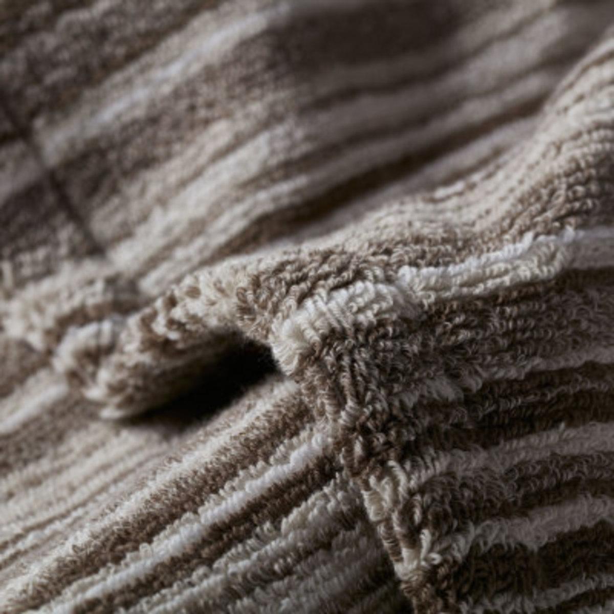 Strait Organic 240 Imabari Towel Japan Hand Towel - Brown