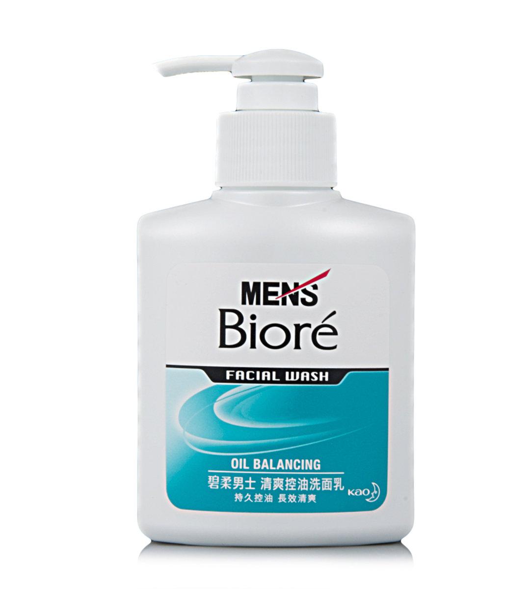 男士清爽控油洗面乳 (100毫升)