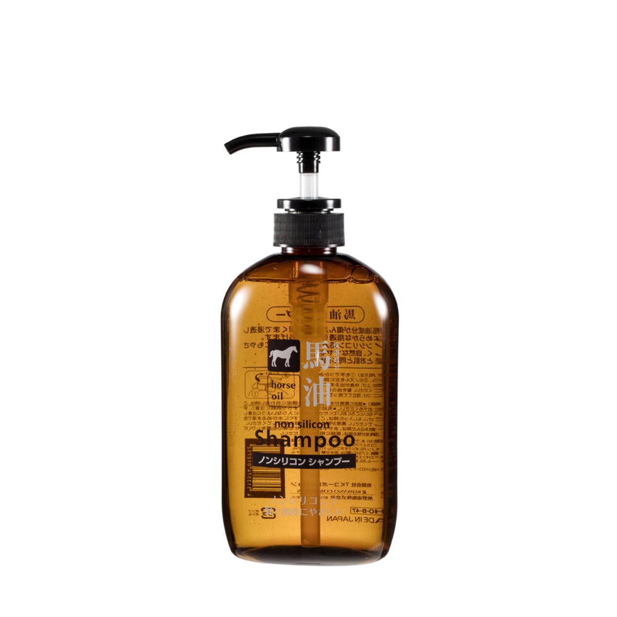 Horse Oil Silicone Free Shampoo (600ml)
