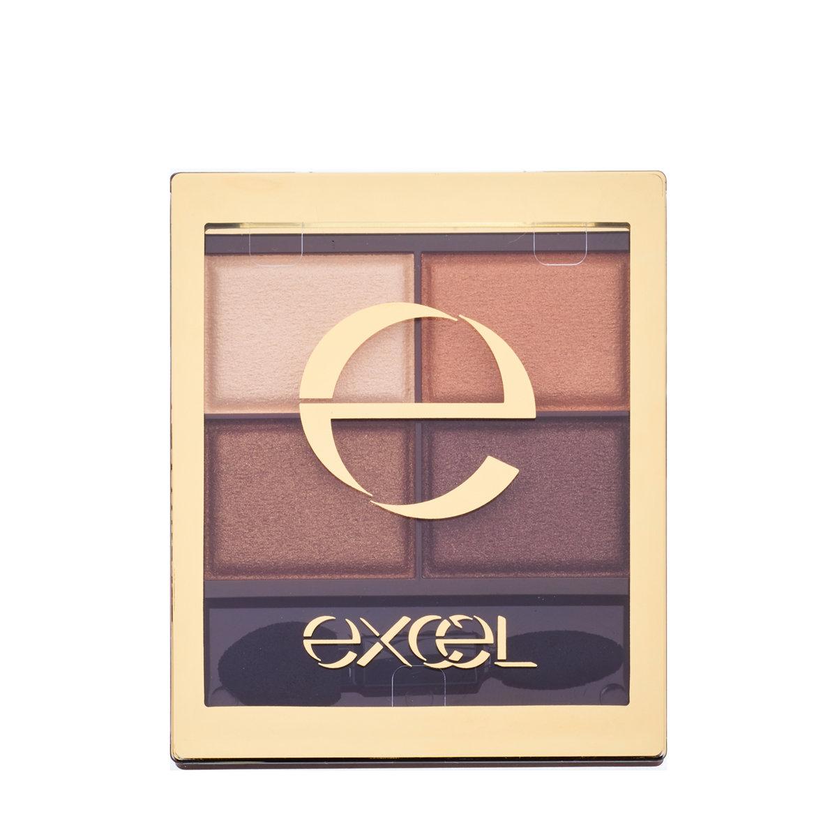 Excel, Excel 裸色深邃眼影 SR02栗子啡 (4.3克)