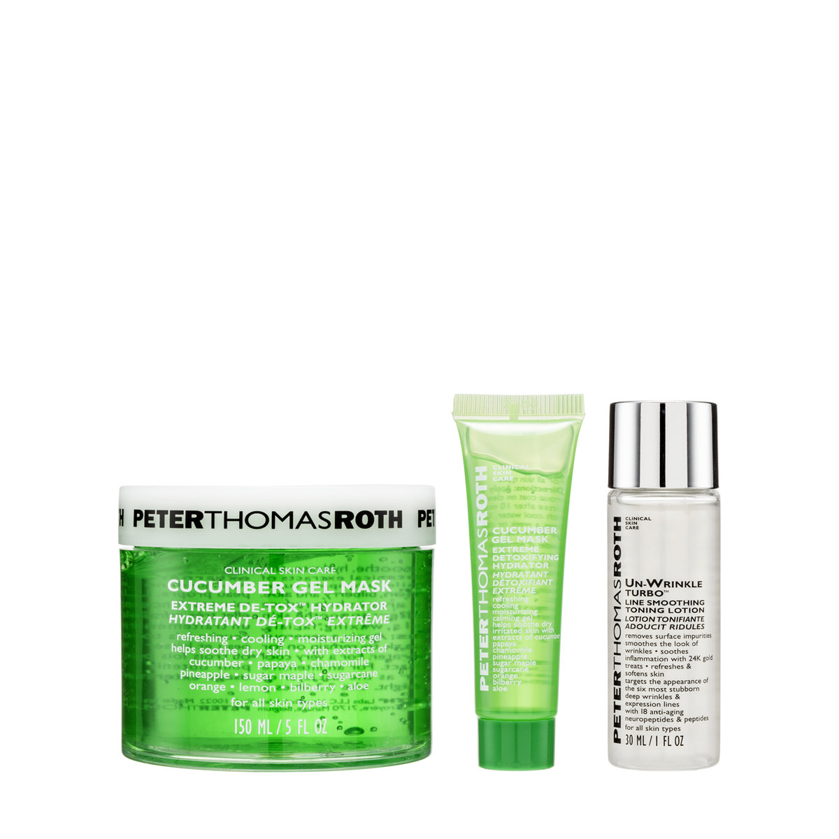 Cucumber Gel Mask set (3pcs) (Expiry Date: May 2020)