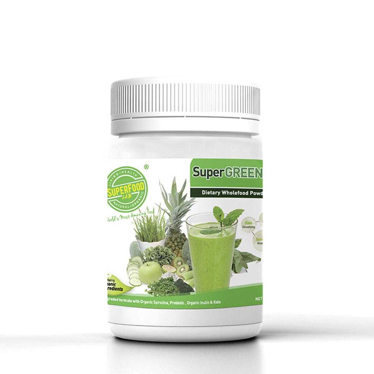 SuperGreen pH 7.3 (Advanced Formula) (270g)