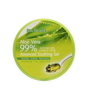SOO BEAUTE 升級蘆薈(99%)保濕舒緩凝膠 (300毫升)