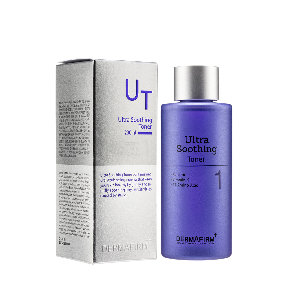 Ultra Soothing Toner (200ml) [Parallel Import]