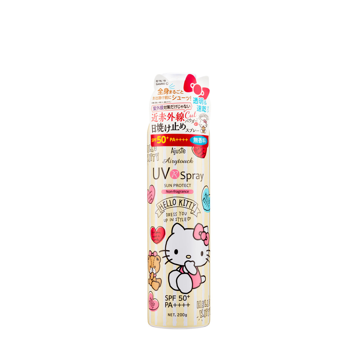 SPF50+ PA++++ HELLO KITTY UV Spray, NON FRAGRANCE (200 g)