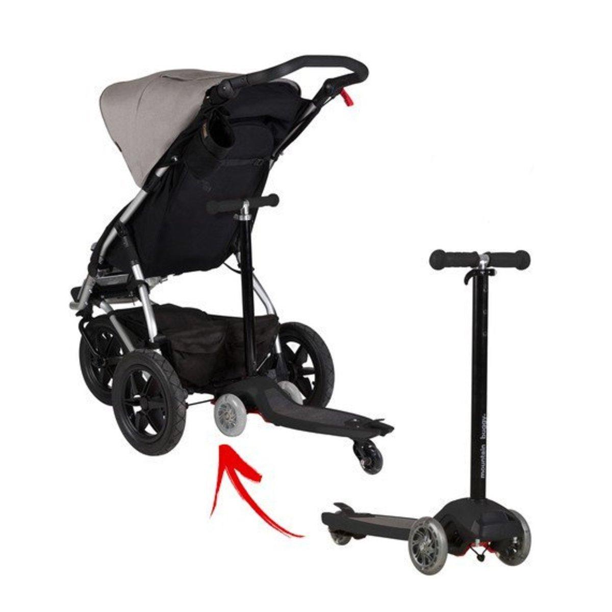嬰兒推車板及通用連接器 (黑色)
