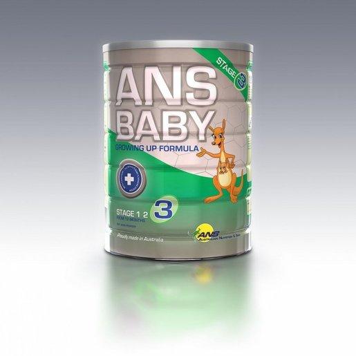 澳恩兒嬰兒成長配方奶粉 - 階段3 (適合12-36個月的嬰兒) 900克