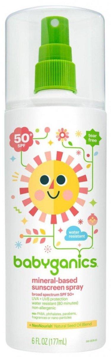 SPF-50 Baby Sunscreen Spray 6oz (177ml)