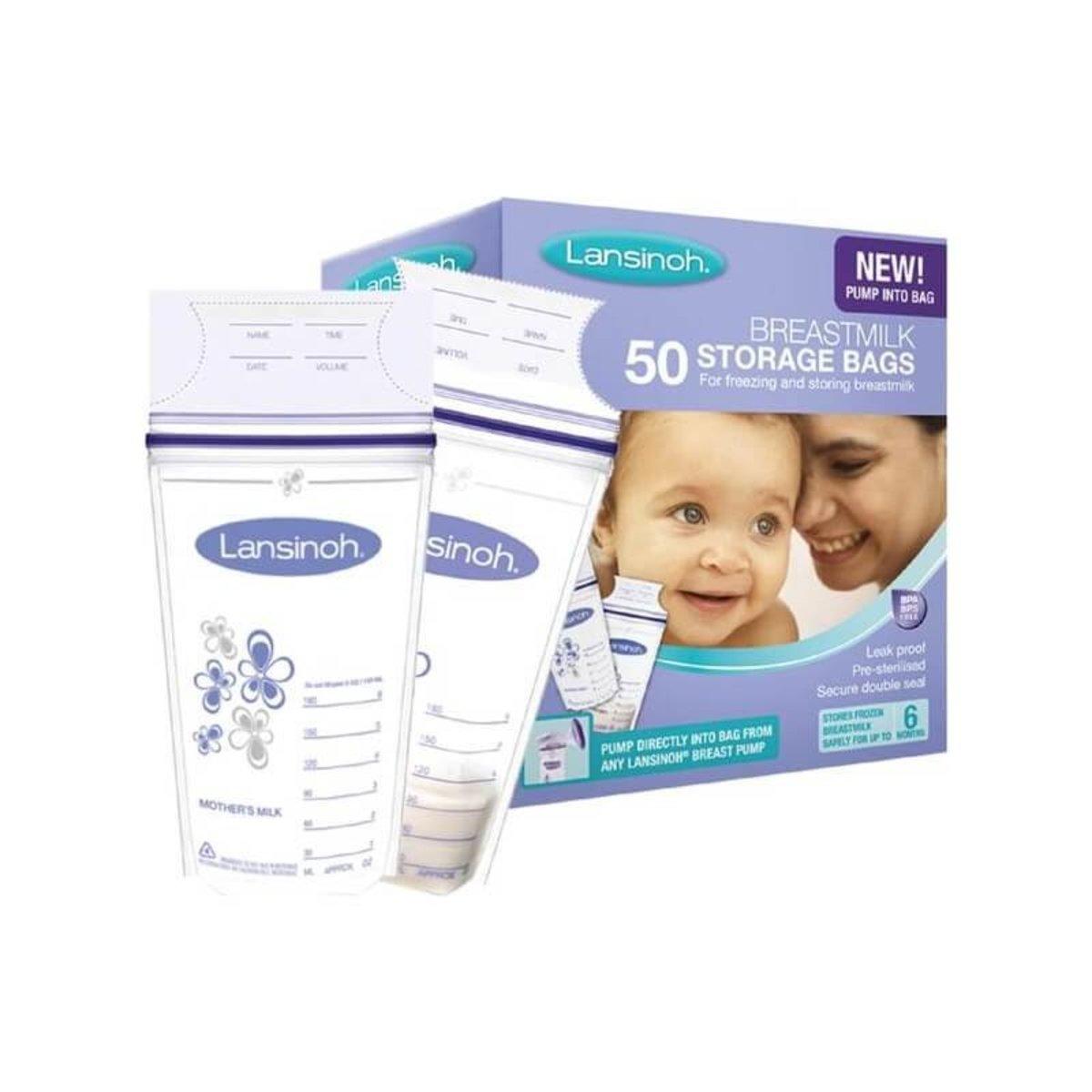 Milk Storage Bag 50-Pack