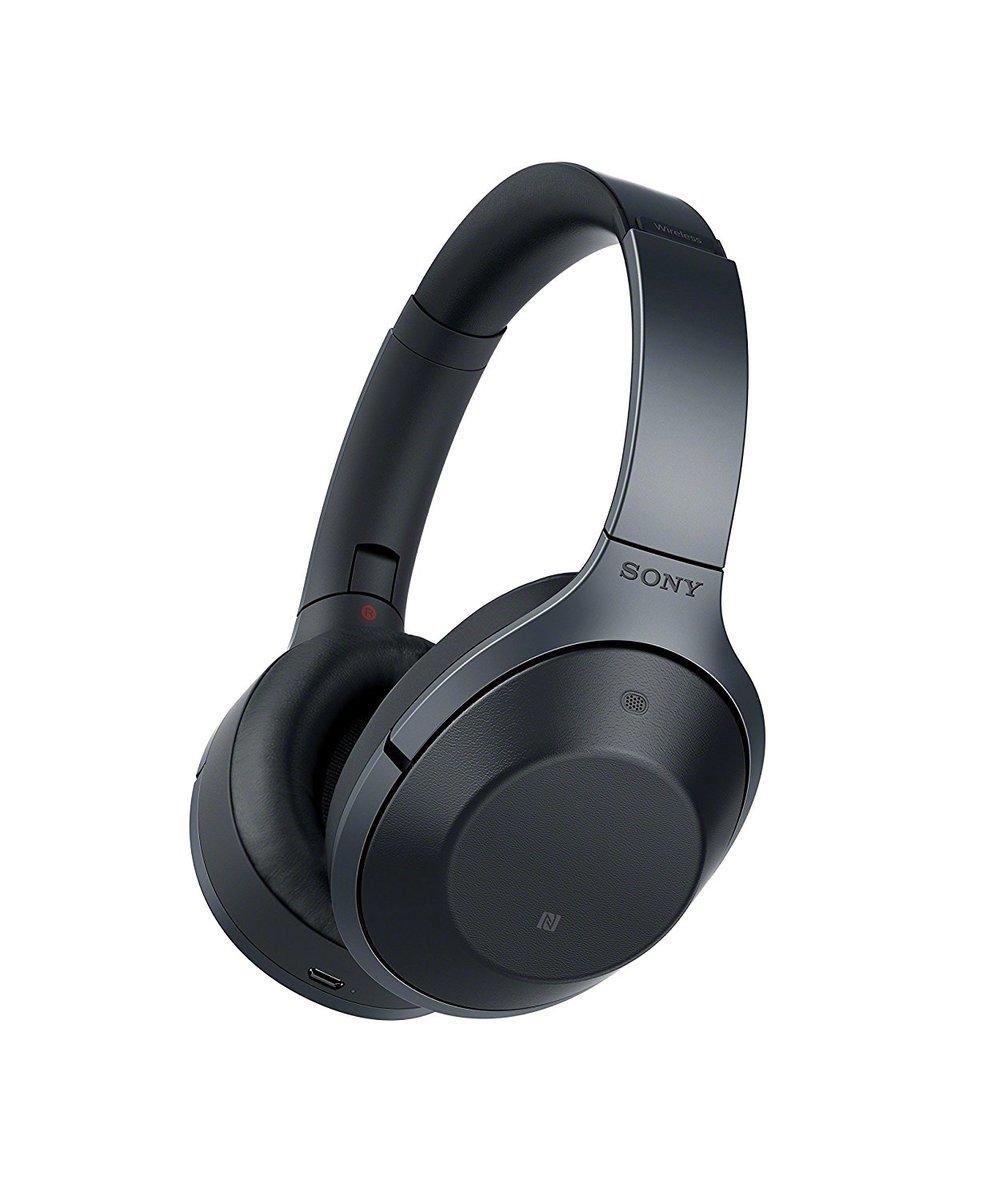 MDR 1000X 藍牙無線降噪頭式戴耳機黑色