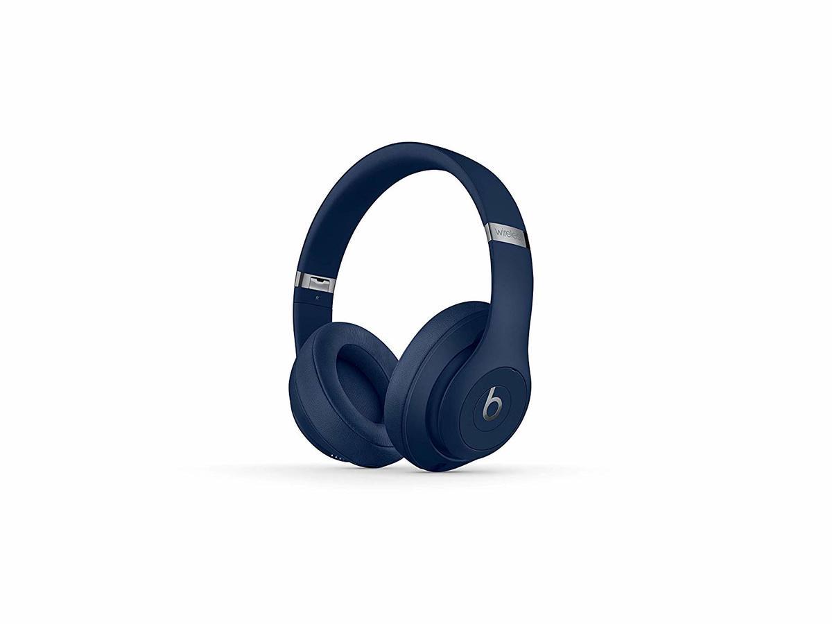 1 Year Warranty Beats Studio3 Core Collection Wireless Over-Ear Headphones Blue