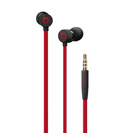 1 Year Warranty urBeats3 Decade Collection Earphones with 3.5mm Plug Defiant Black Red