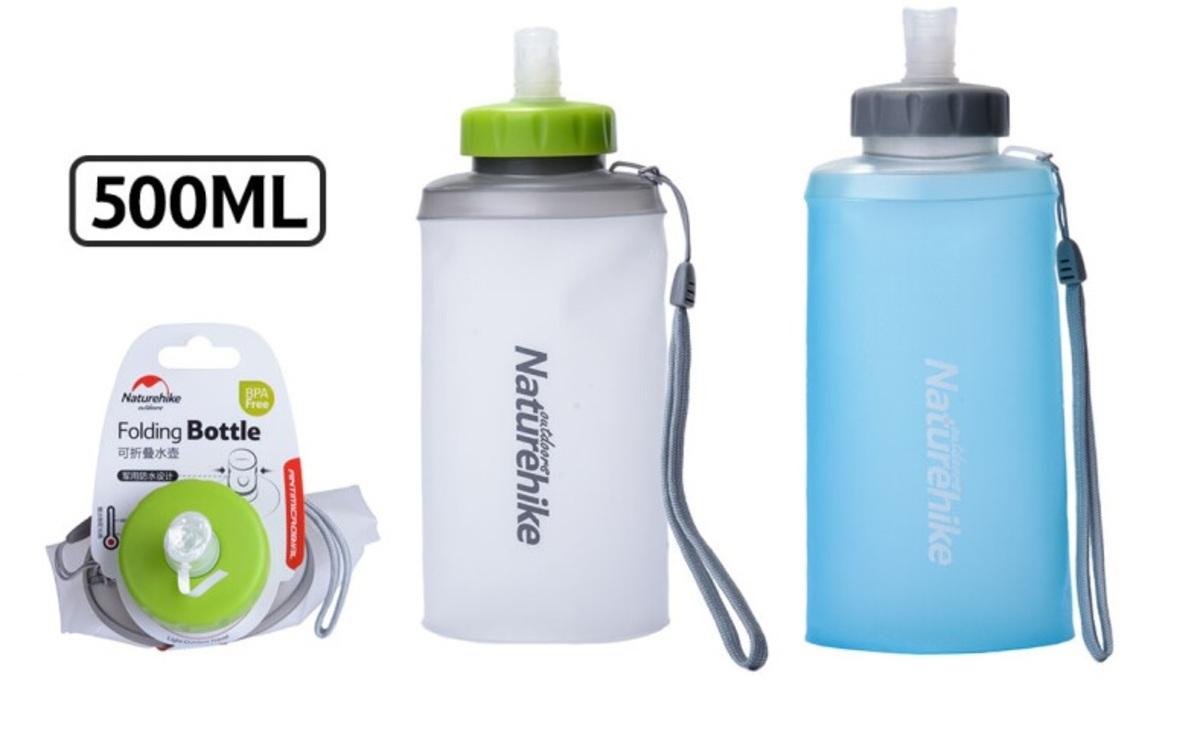 457359f738 Naturehike   Collapsible Soft Sports Water Bottle 500ML   HKTVmall ...