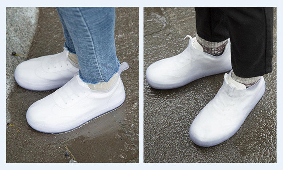 日系時尚防滑雨鞋套