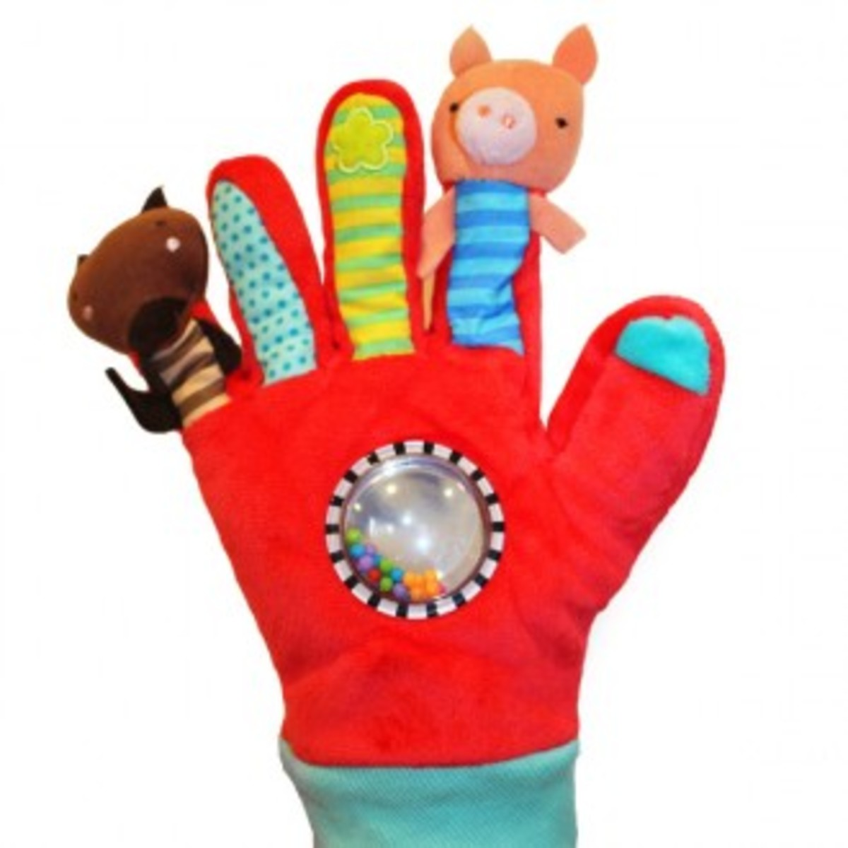 Glove Puppets red