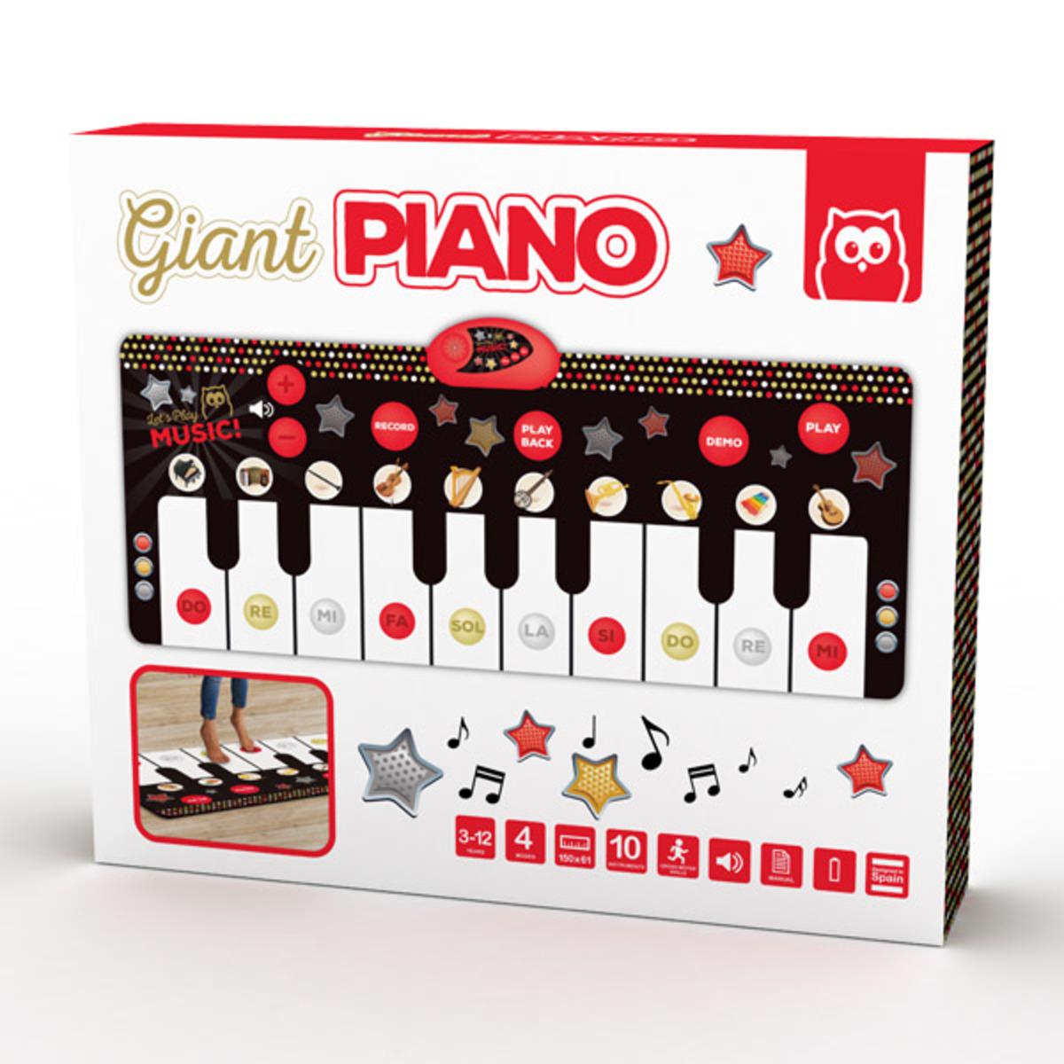 Giant Piano Playmatt