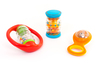 Set of 3 coloured Rattles