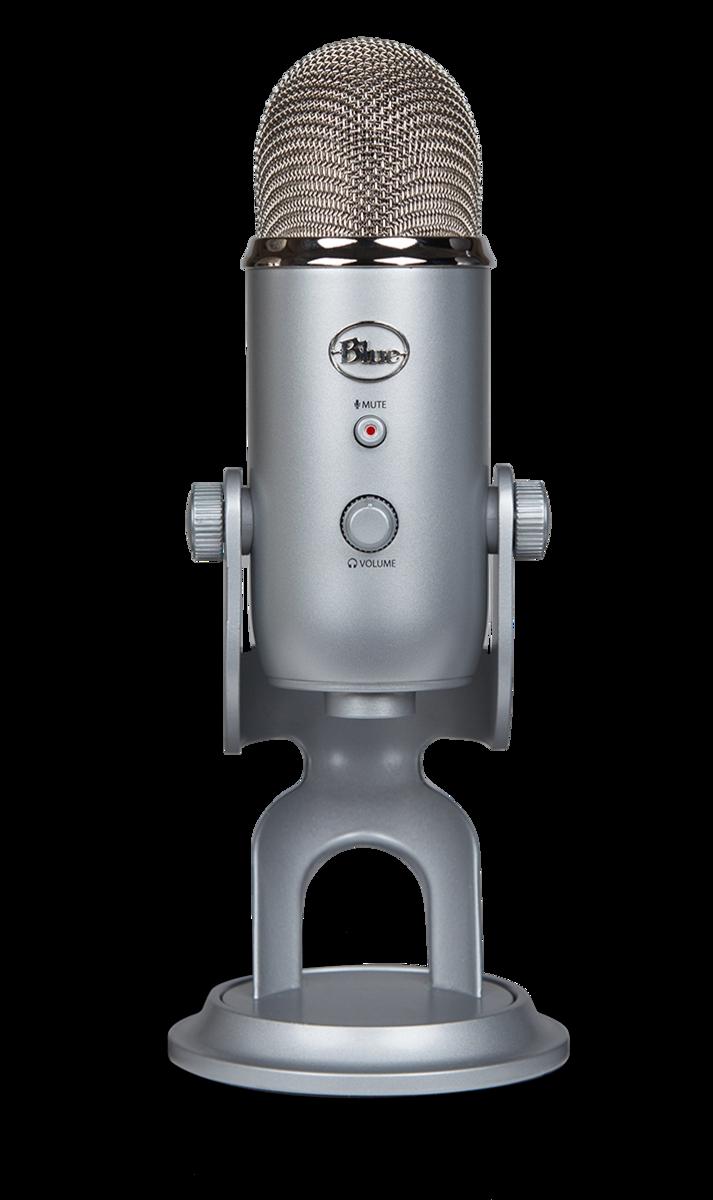 Yeti Silver - 專業電容式USB麥克風
