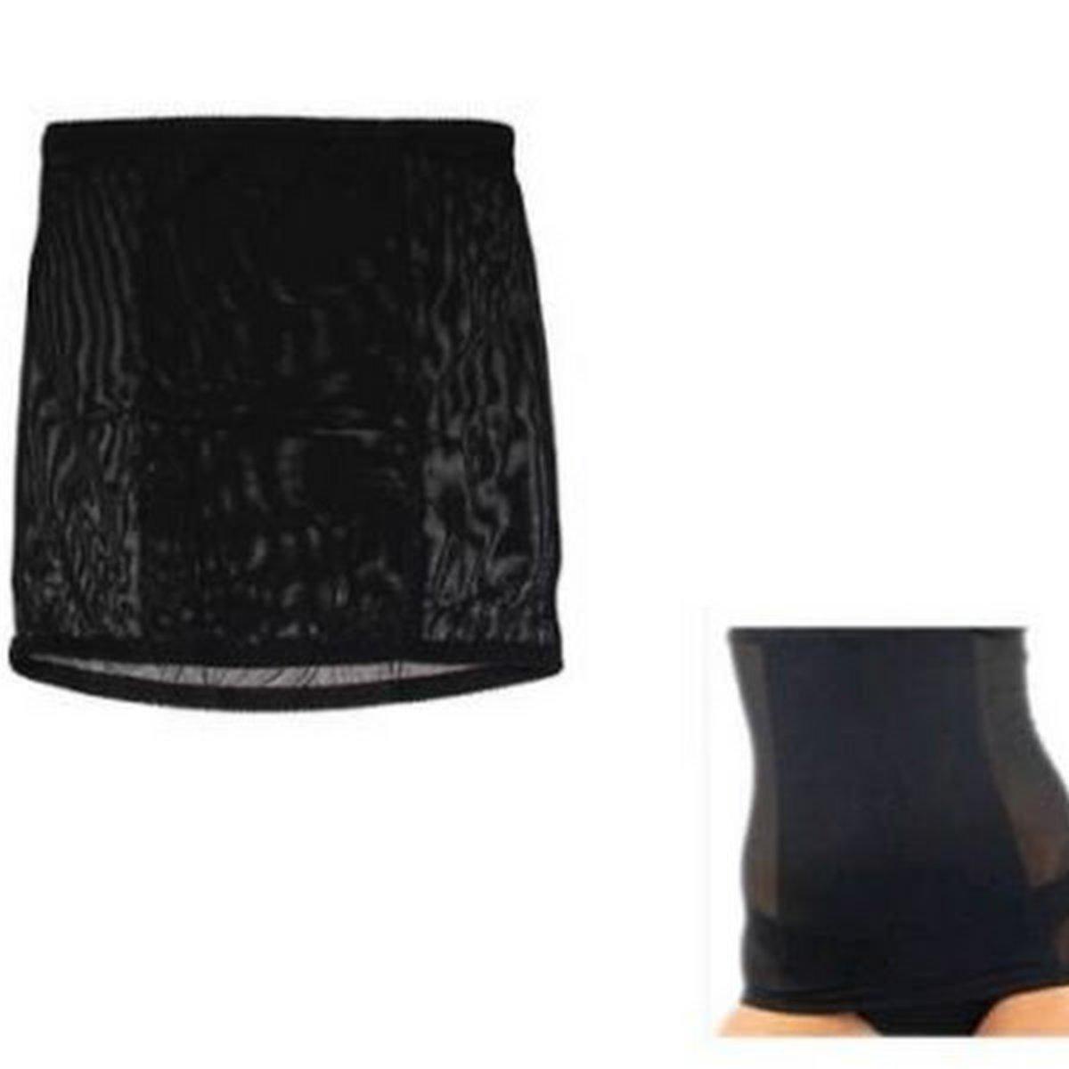 invisible tummy belt black large