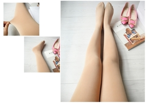 Ambeauti 680D 燃脂瘦腿襪 膚色