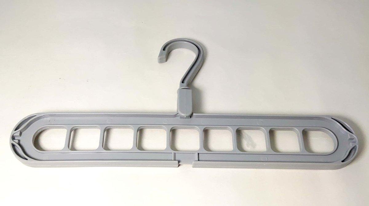多功能家用掛衣架 (gray)(size 33.5x17.5cm)