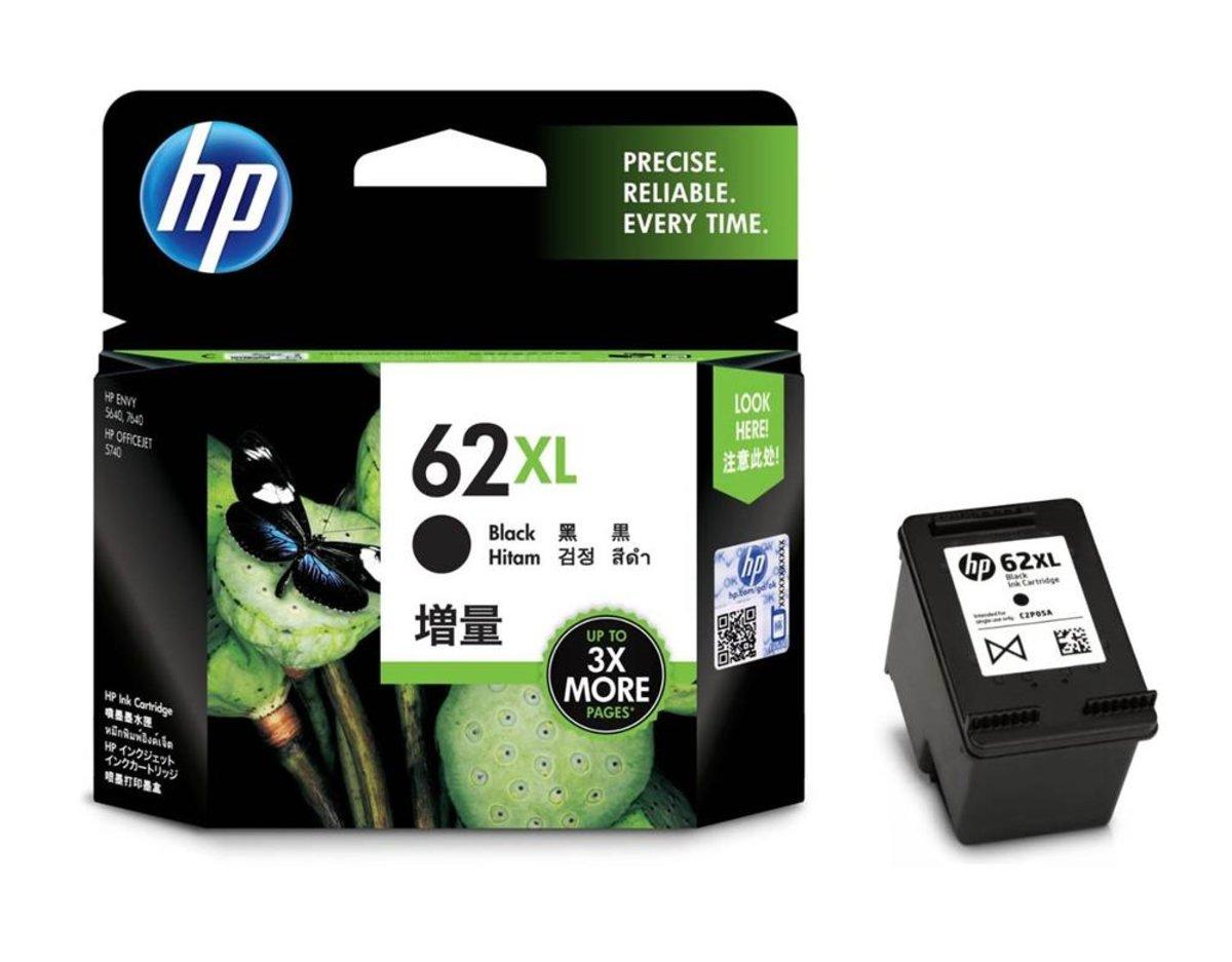 HP 62XL BLACK INK