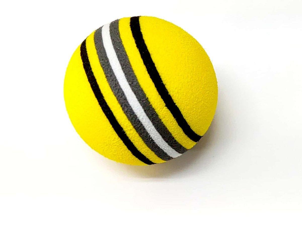 彩虹寵物球 遊樂場玩具 (yellow) 4cm直徑