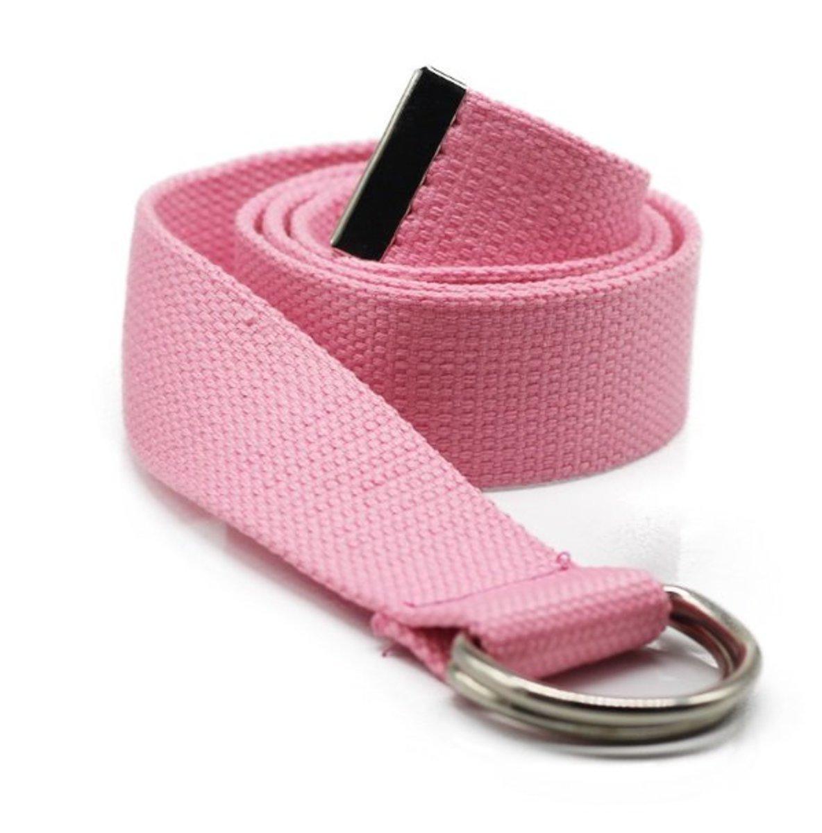 Canvas belt (pink) (width:3.8cm lenght: 110cm)