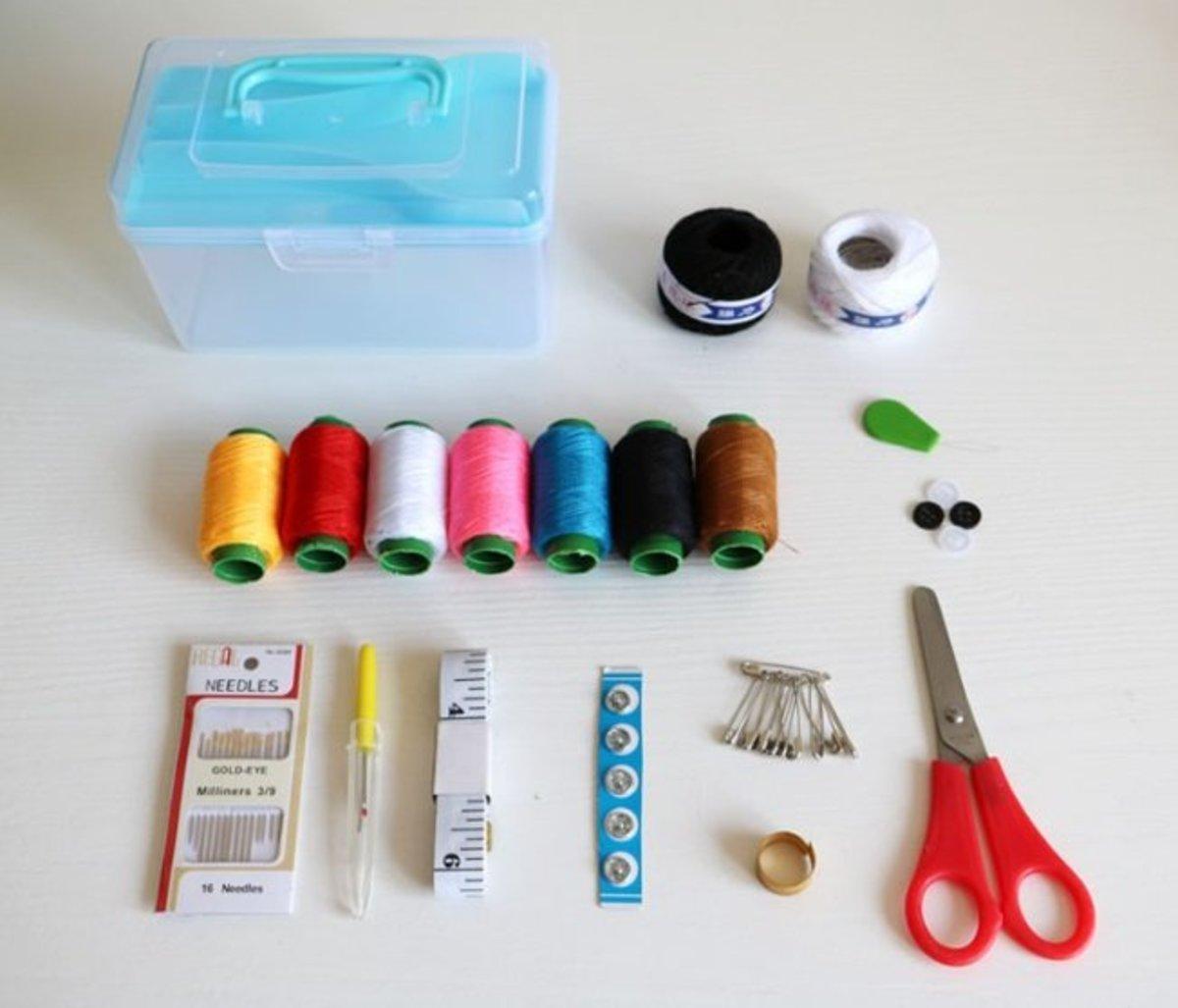 縫紉補線盒 (BLUE)