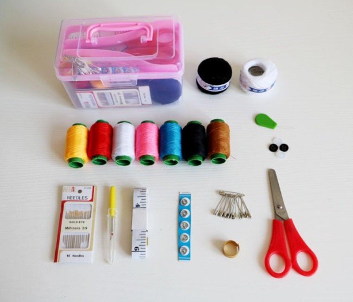 縫紉補線盒 (PINK)
