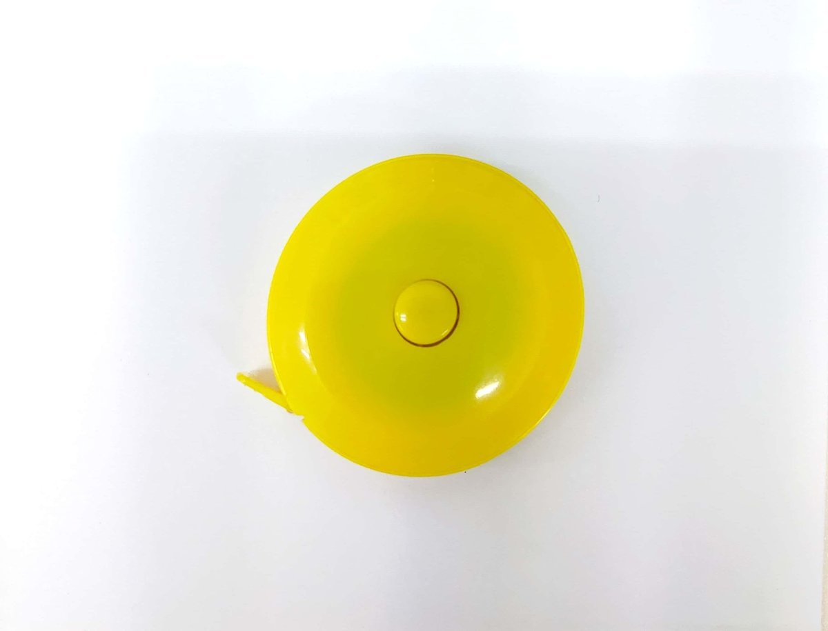 自動伸縮型捲尺 yellow(MAX 150cm)