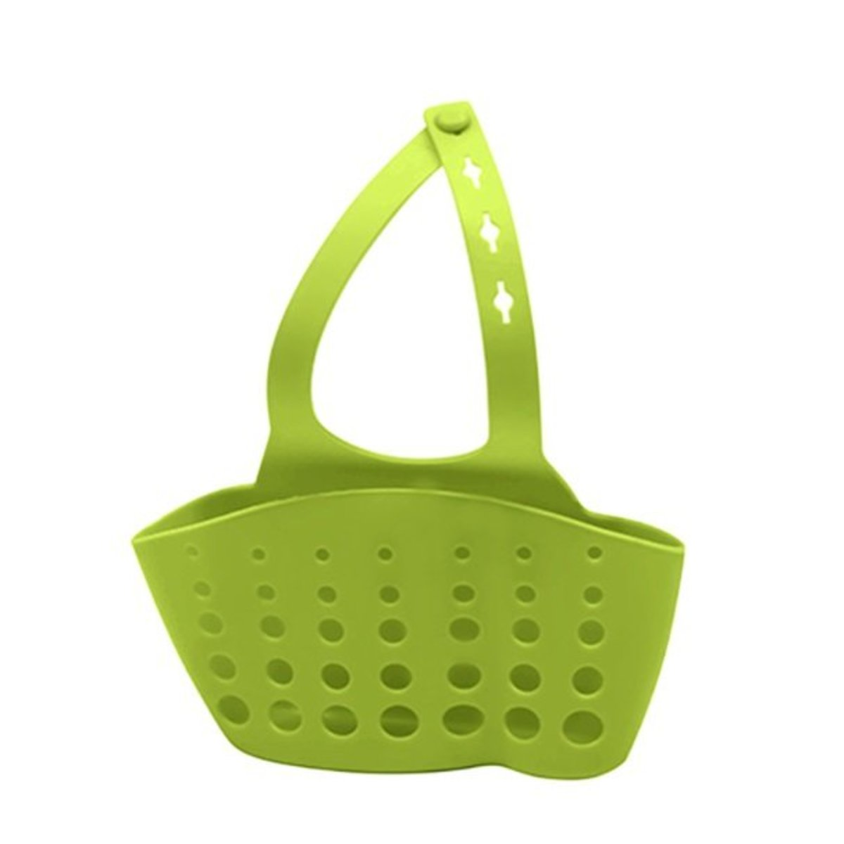 sink storage basket (dark green) (length 10x width 4x height 8cm)