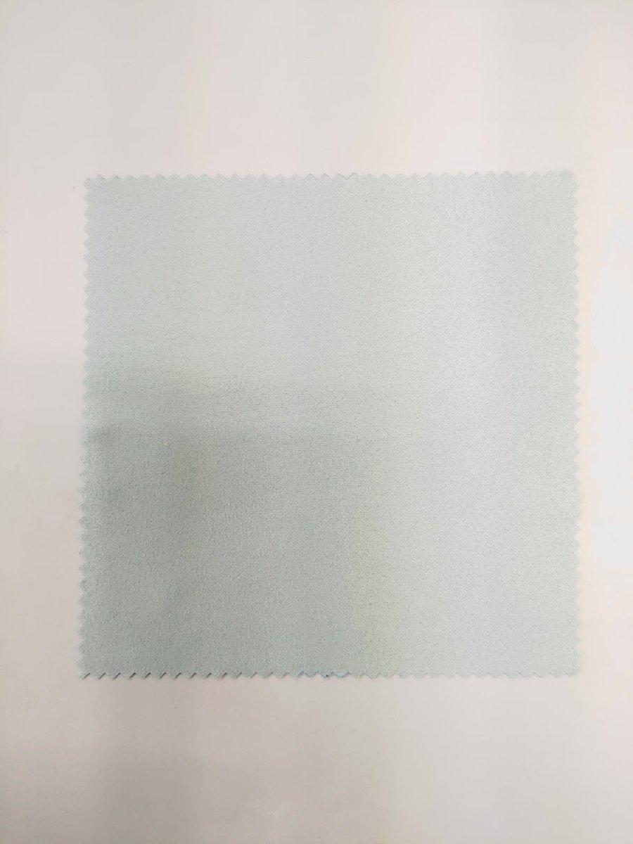 眼鏡清潔擦拭布 SIZE:13*13CM鋸齒邊 (blue)