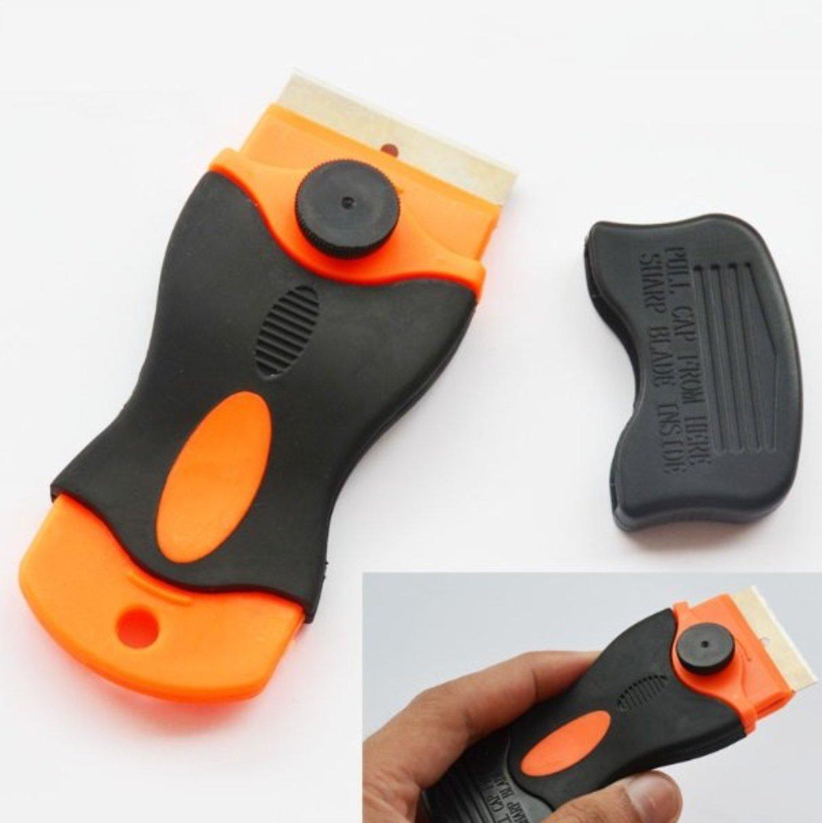 橙黑色鏟刀