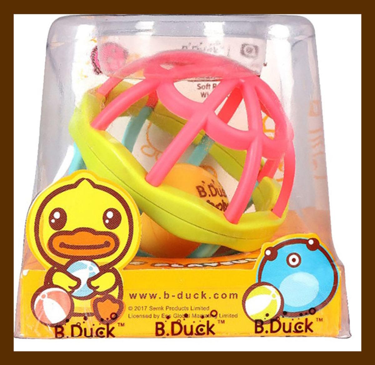 B-Duck Baby Catching Ball 嬰兒手抓球 6M+(6971266380011)