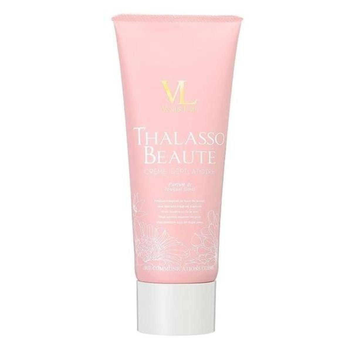 日本 Venus Lab Thalasso Beaute Cream Floral Bouquet 櫻花美肌脫毛膏 200g 粉紅