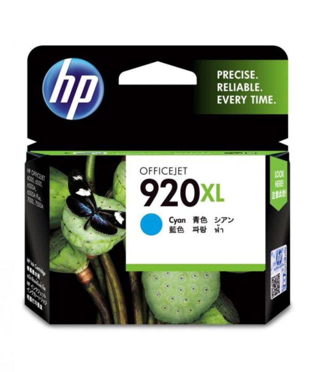 HP 920XL CYAN INK