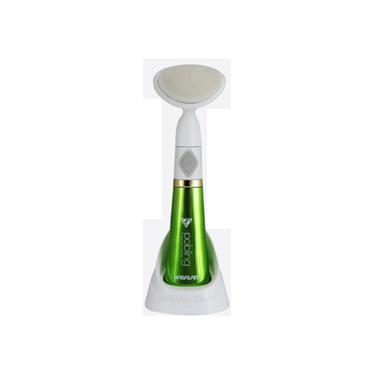 PoBling 第6代洗臉器 (Green)潔面儀刷洗臉儀機清潔洗臉神器 綠色