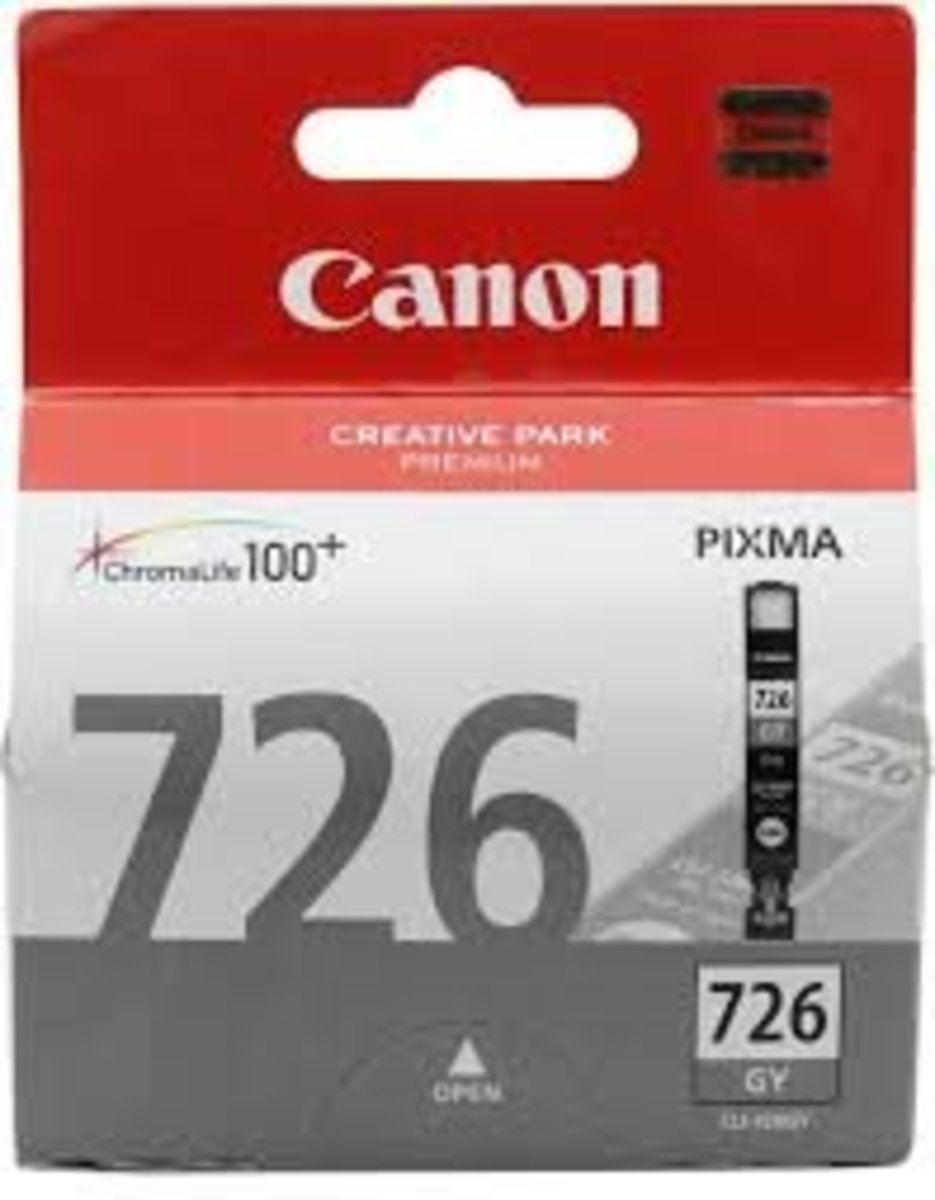 CANON CLI-726 GREY INK