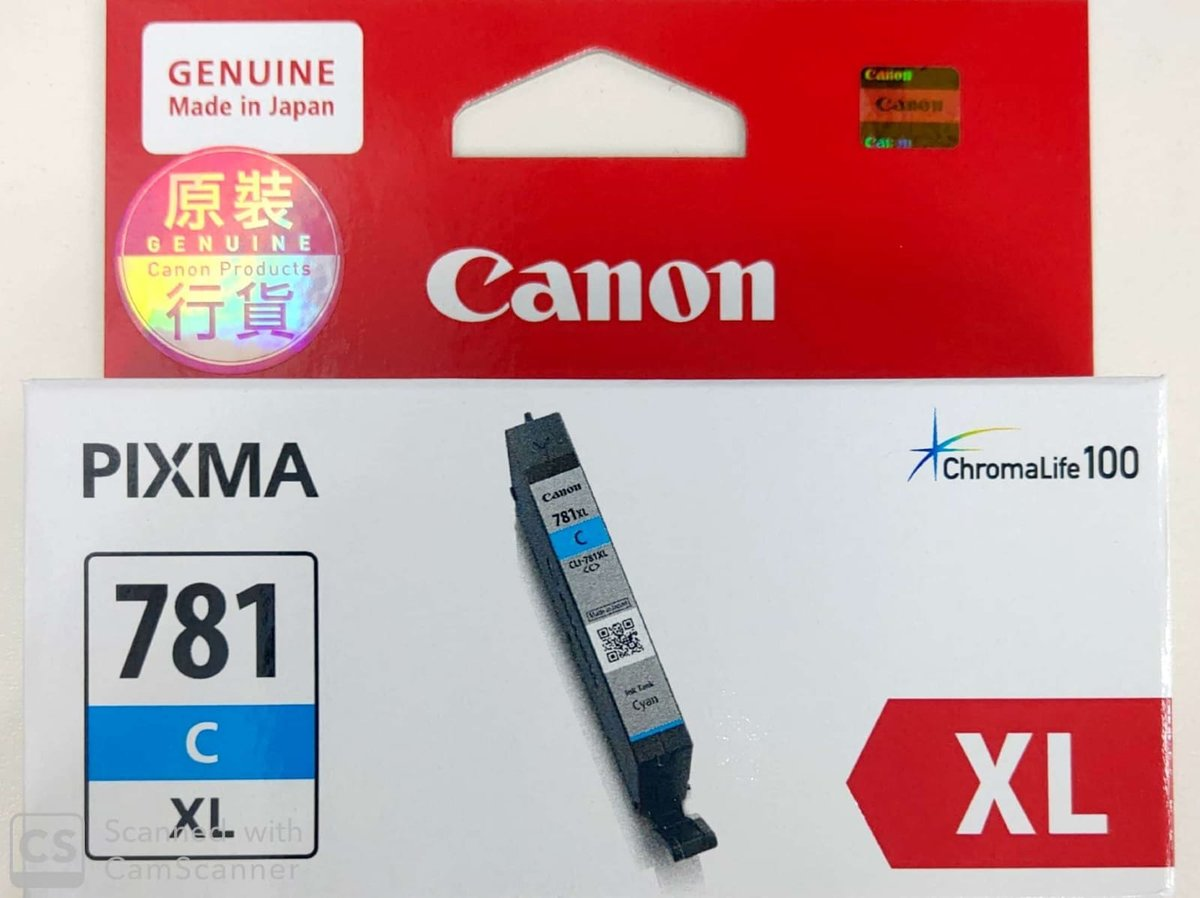 CANON CLI-781C INK XL