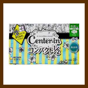 CENTER-IN CENTER IN COMPACT NON FRAGRANCE HEAVY DAY22'S無香味 護翼日用 21.5cm (22片)(4903111310692)