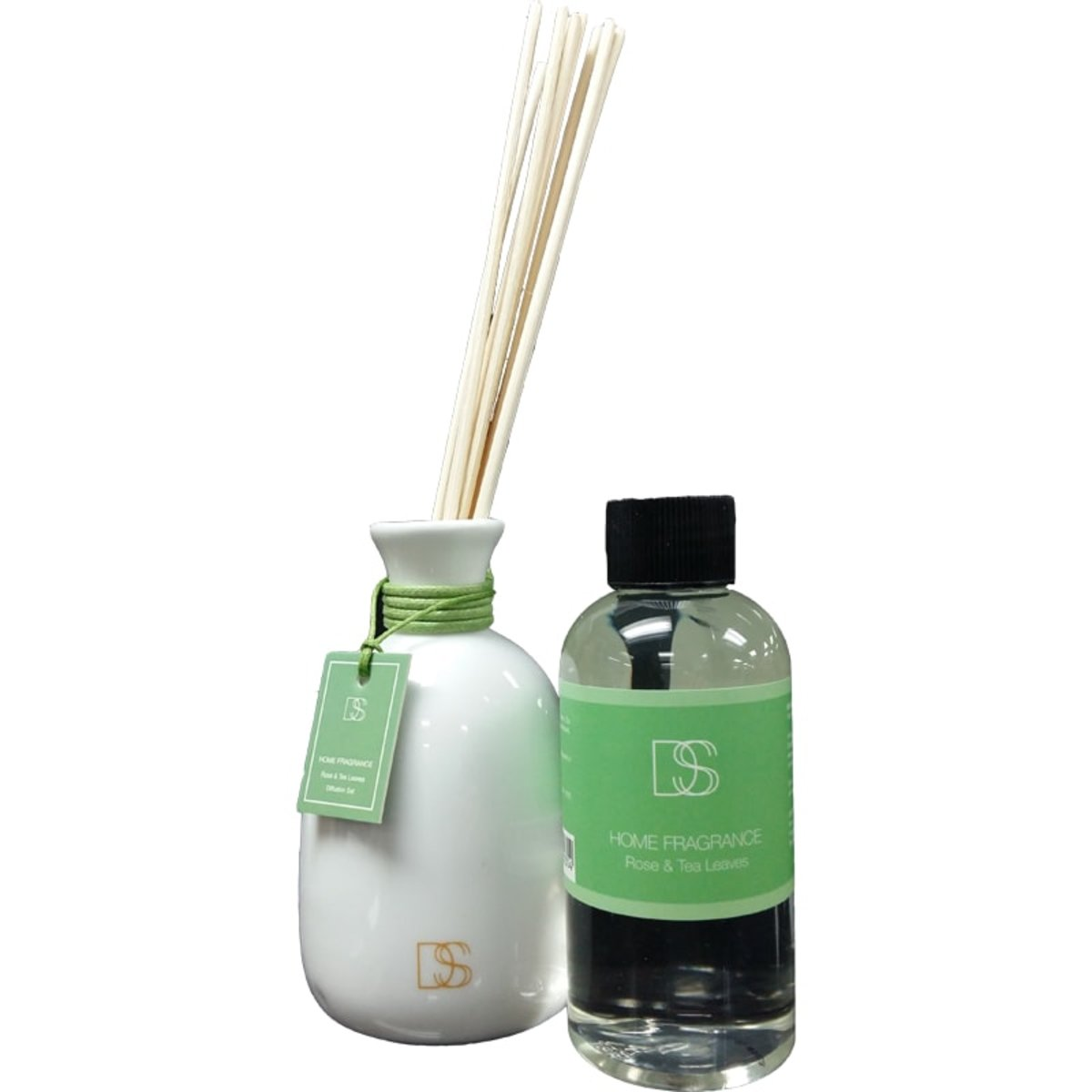DSS Rose & Tea Leaves Diffuser 玫瑰與茶青香薰  綠色  145ml