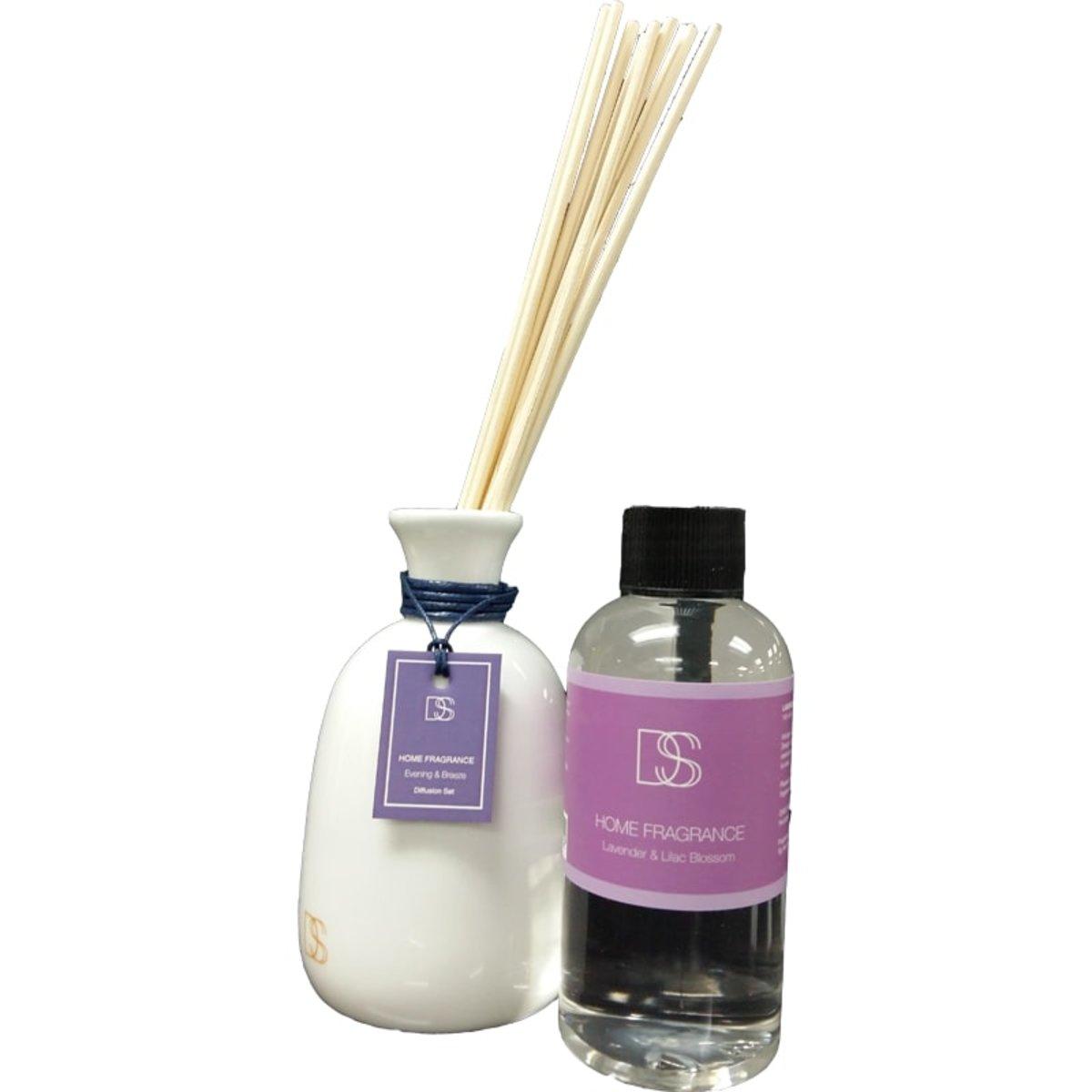 DSS Lavender and Lilac Blossom Diffuser 丁香花香薰 薰衣草 145ml 紫色