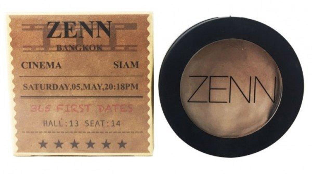 Zenn Face Contour 修容膏 4.5g 啡色小方盒