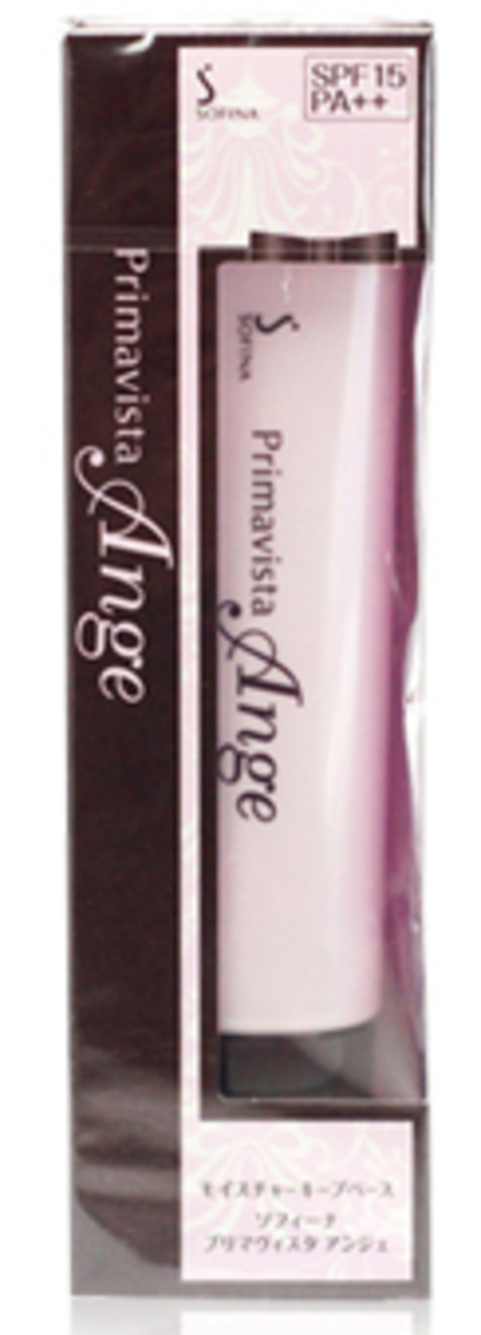 Sofina Primavista Ange Moisture Keep Base 漾捷水潤瓷效妝前隔離乳 UV SPF15 PA 粉紅色