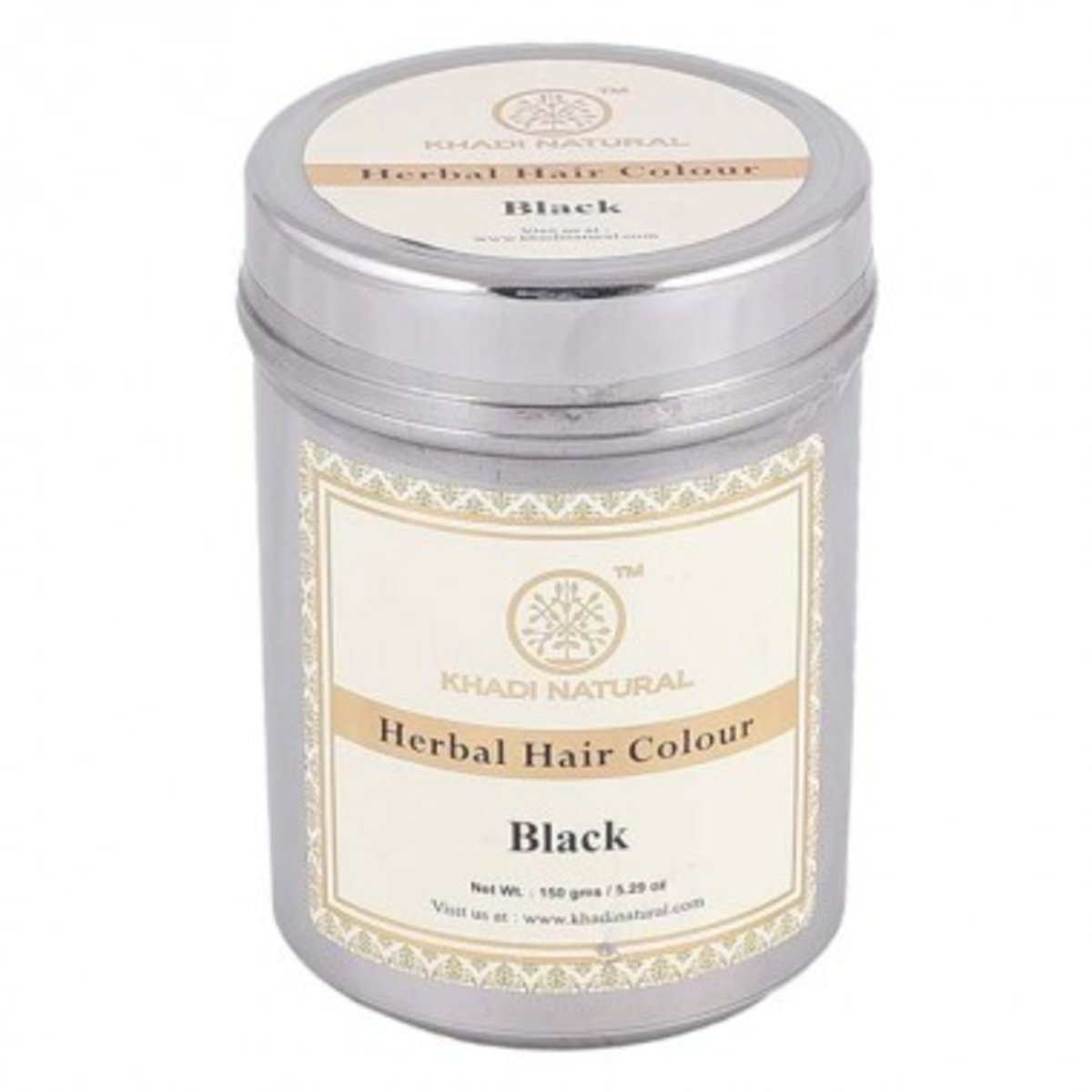 KHDAI NATURAL Herbal Hair Colour (Black) 天然草本染髮粉 (黑色) 150g Black